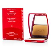 Express Compact Foundation Wet/ Dry - # 08 Cinnamon Beige (Unboxed) (10g/0.35oz)