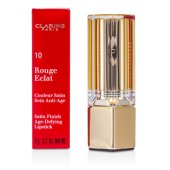 Rouge Eclat Satin Finish Age Defying Lipstick - # 10 Pink Fuchsia (3g/0.1oz)