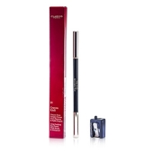 Long Lasting Eye Pencil with Brush - # 01 Carbon Black (With Sharpener) (1.05g/0.037oz)