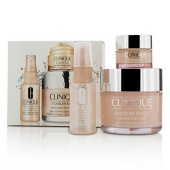 Moisture Surge Set: Moisture Surge 125ml + All About Eyes 15ml + Moisture Surge Face Spray Thirsty Skin Relief 30ml (3pcs)