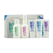 Clear Start Breakout Clearing Kit: Foaming Wash + Toner + Daytime Treatment + Moisturizer SPF 15 + Overnight Treatment (5pcs)