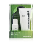 Active Moist Limited Edition Set: Active Moist 100ml + Dermal Clay Cleanser 30ml + Facial Cleansing Mitt (3pcs)
